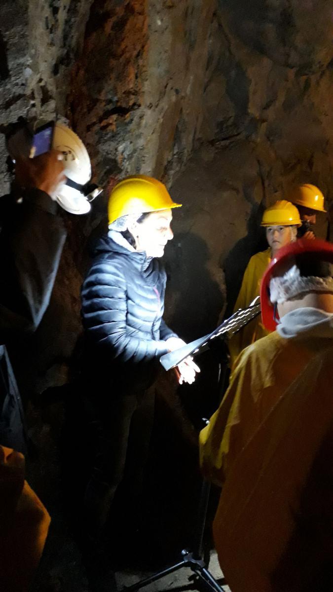 Escursione alle Miniere di Cortabbio