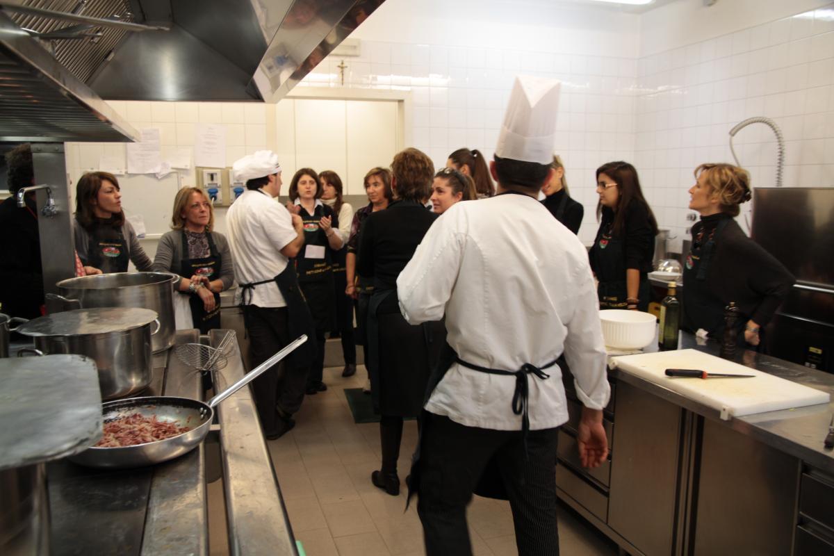 Corso di cucina 2012