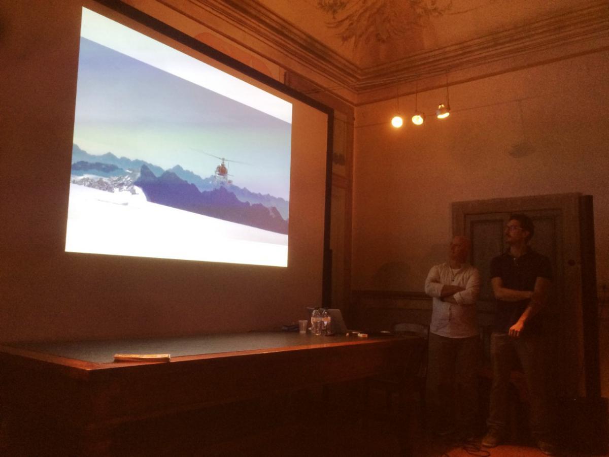 """Serata - """"I guardiani del ghiaccio - Volontari per monitorare lo stato dei ghiacciai e non solo"""""""
